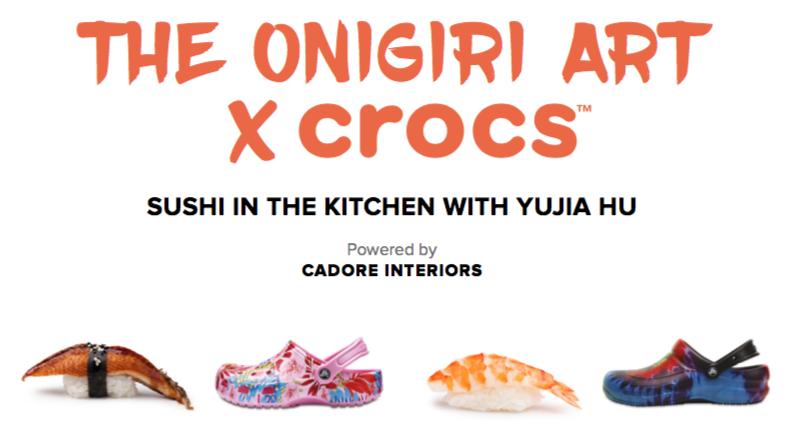 Design Week: The Onigiri Art x Crocs 1