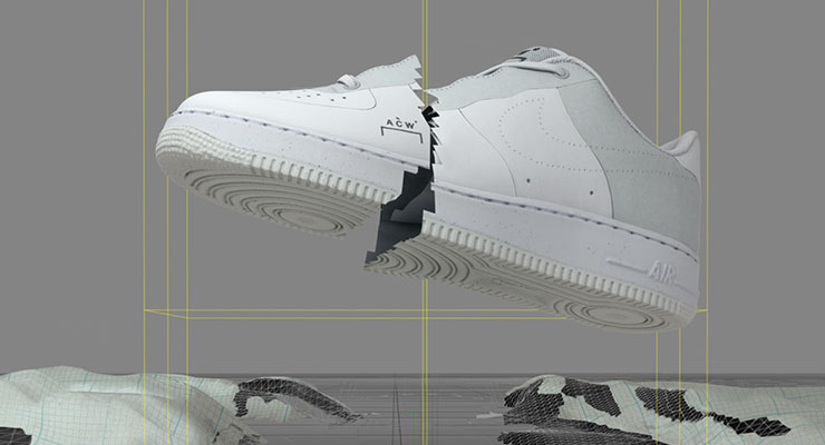 A COLD WALL Nike Air Force 1 Low Bespoke   A cold wall, Nike